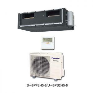 Điều hòa âm trần nối ống gió Panasonic S-48PF2H5-8/U-48PS2H5-8 47,800BTU 1 chiều Inverter