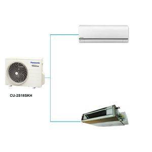 Điều Hòa Multi Panasonic CU-2S18SKH 17,100BTU 1 Chiều Inverter