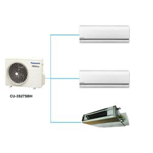 Điều Hòa Multi Panasonic CU-3S27SBH 25,600BTU 1 Chiều Inverter